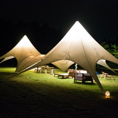 Glamping at Romantic-Mura