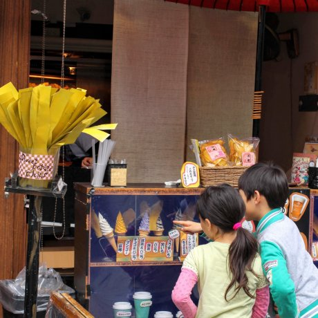 Autumn Treats in Kawagoe: Sweet Potato Chips